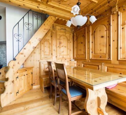 Idées pour la décoration de maisons en bois - 1